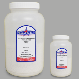 BAH65 -- Protease Free Heat Shock Bovine Serum Albumin Powder