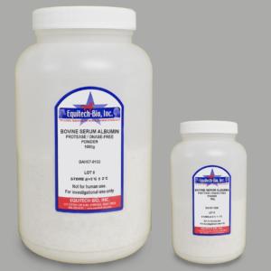 BAH67 -- Protease DNASE Free Heat Shock Bovine Serum Albumin pH7