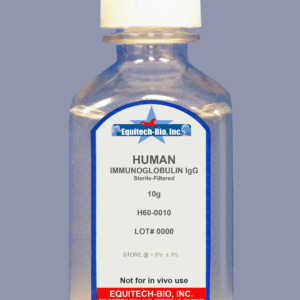 H60 -- Human IgG Solution >= 97% Purity