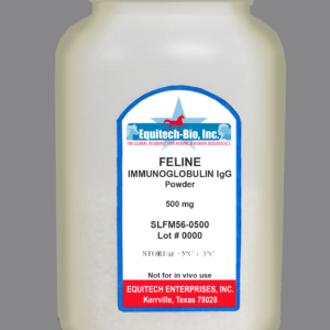 SLF56 -- Feline IgG Lyophilized >= 97% Purity