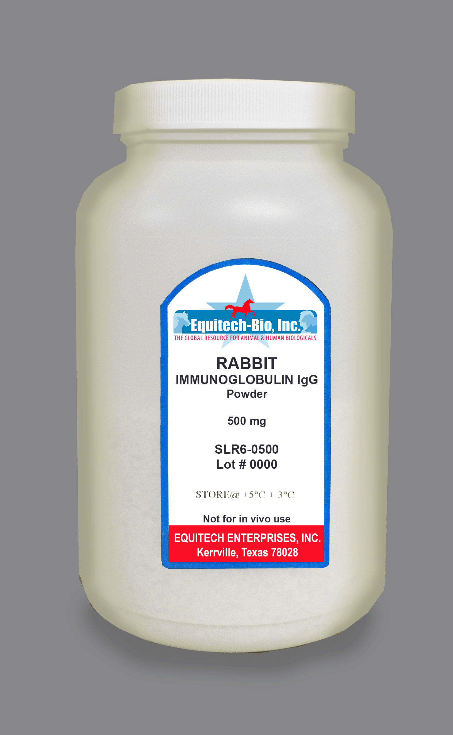 SLR56 -- Rabbit IgG Lyophilized >= 97% Purity
